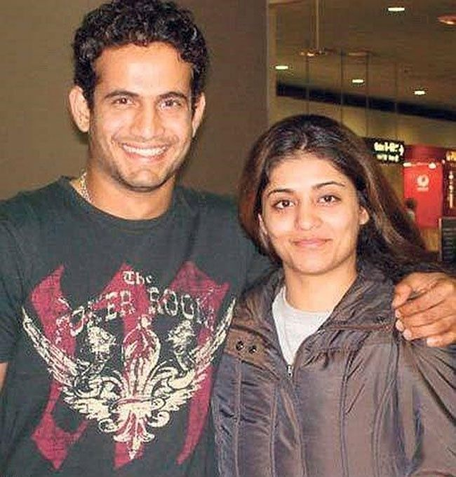 Irfan Pathan Shivangi