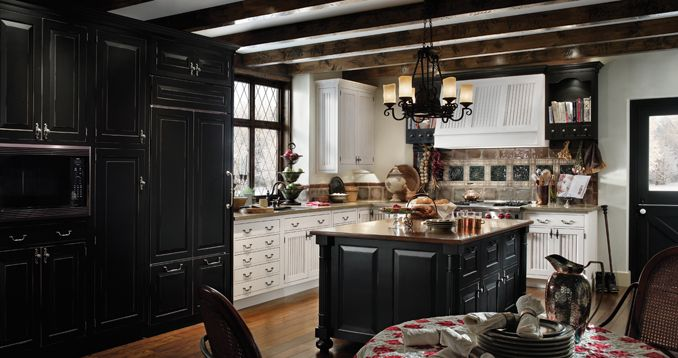 european country kitchen wood mode fine custom cabinetry wood rh pinterest com