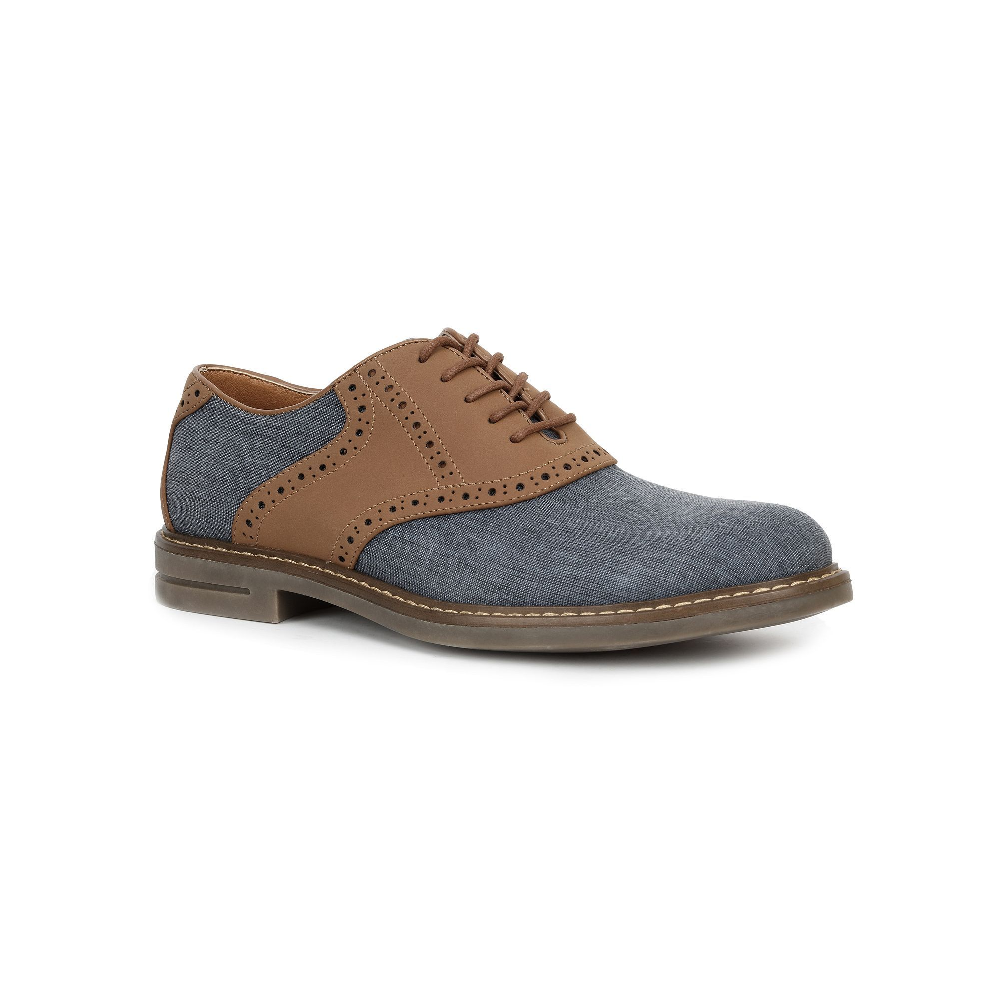 IZOD Conaway Men's Saddle Oxford Shoes, Size: medium (12), Red/Coppr  (Rust/Coppr)