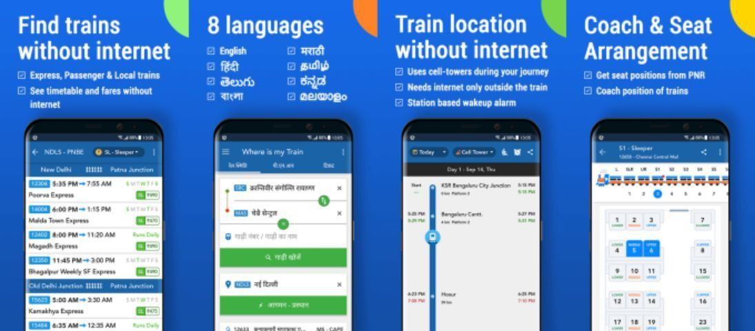 Google has acquired one of India's most popular train