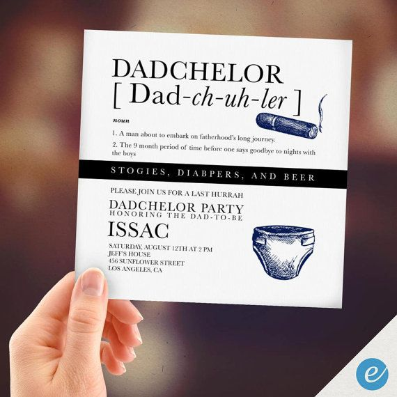 Dadchelor party print from home baby shower invitations dad dadchelor party print from home baby shower invitations dad shower invitations instant download digital card instant print filmwisefo