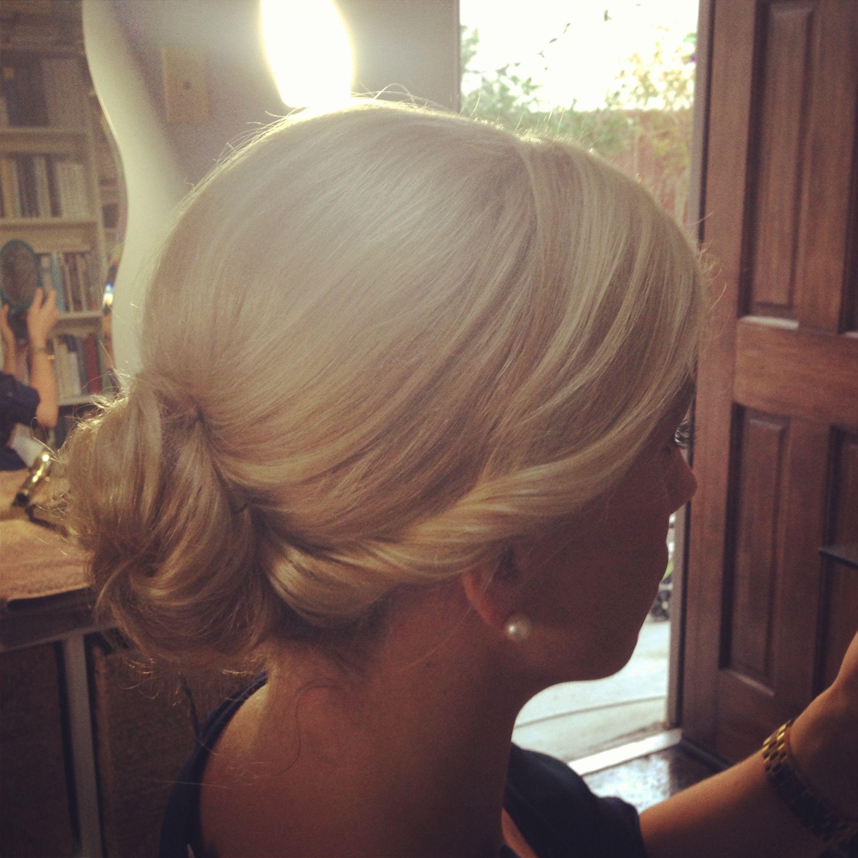 Bridal updo wedding hair beautyandthebeach wedding pinterest