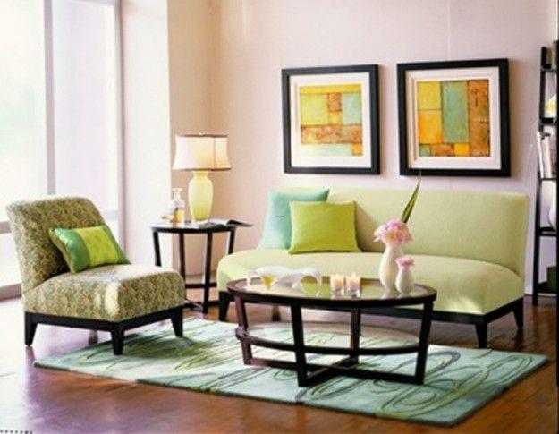 Disporre i quadri sopra un divano - Quadretti colorati   Pinterest ...