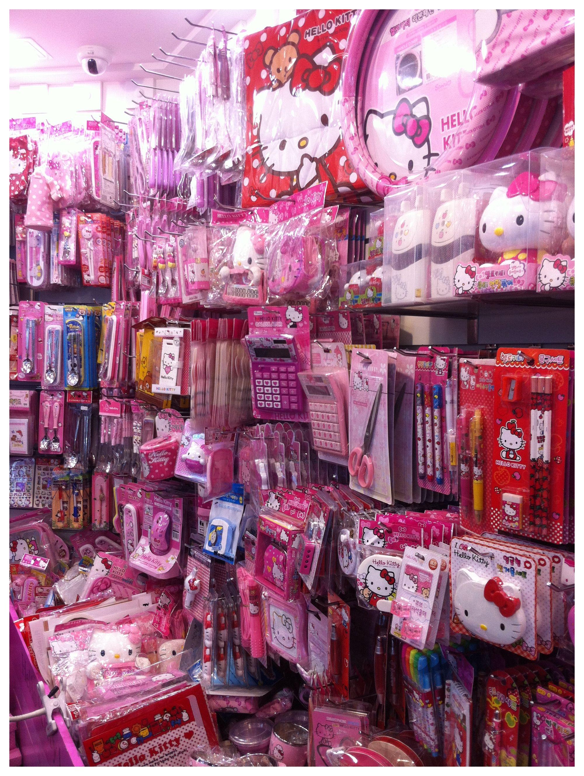 86661766c Hello Kitty shop near Namdaemun market | Korea | Hello kitty shop ...