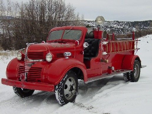 Glenwood Springs Fire Department (CO)  1939 Dodge Parade Truck http://setcomcorp.com/fire.html