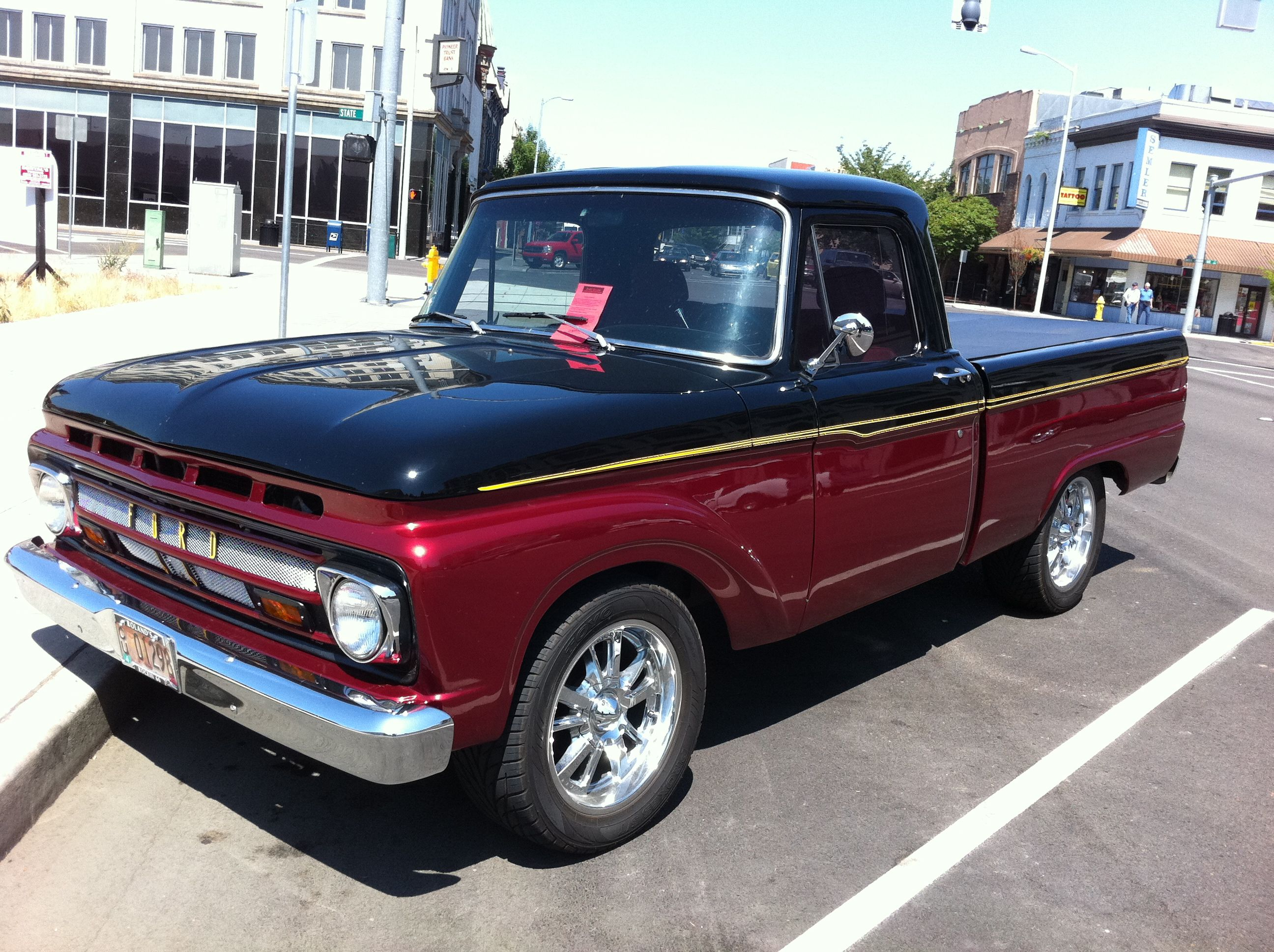 Vintage trucks | ... and 1-ton pickups, but my classic truck roots ...