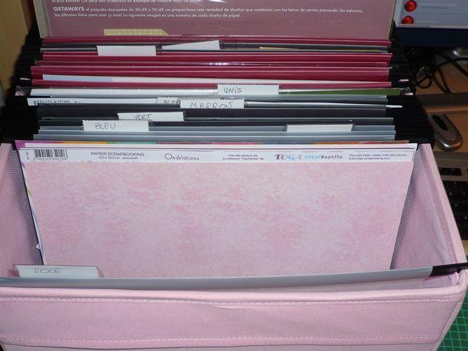 Ranger Ses Papiers Dans Des Dossiers Suspendus Tidy Scraproom Dossiers Suspendus Dossier Rangement