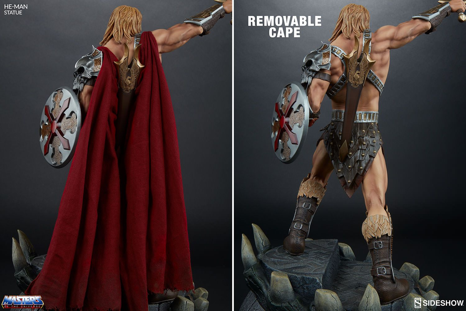 Masters of the Universe HeMan Statue by Sideshow Collectible | Sideshow Collectibles