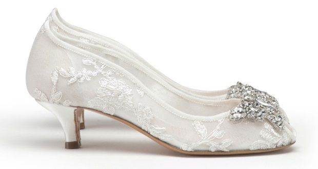 1000  images about Bridal Shoes on Pinterest | Lace Shoes and Toe