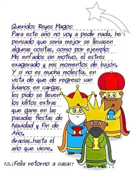 Queridos Reyes Magos D Mensaje De Reyes Magos Feliz