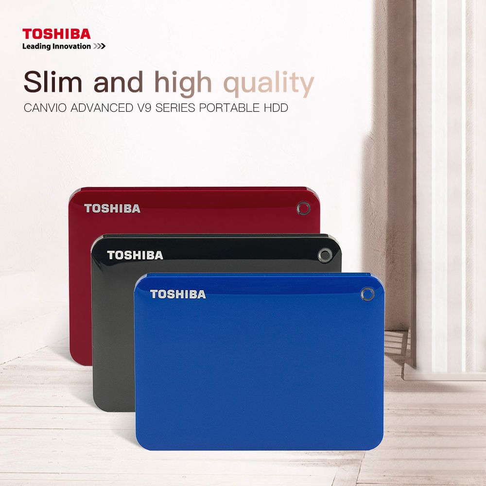 Toshiba Canvio Connect Ii Usb 3 0 2 5 1tb 2tb Portable External Hard Disk Drive Mobile Hdd Desktop Laptop Encryption Hdd Mem Hard Disk Hard Disk Drive Toshiba