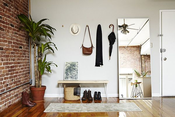 Ignore Your Entryway Small Apartment Decorating Living Room