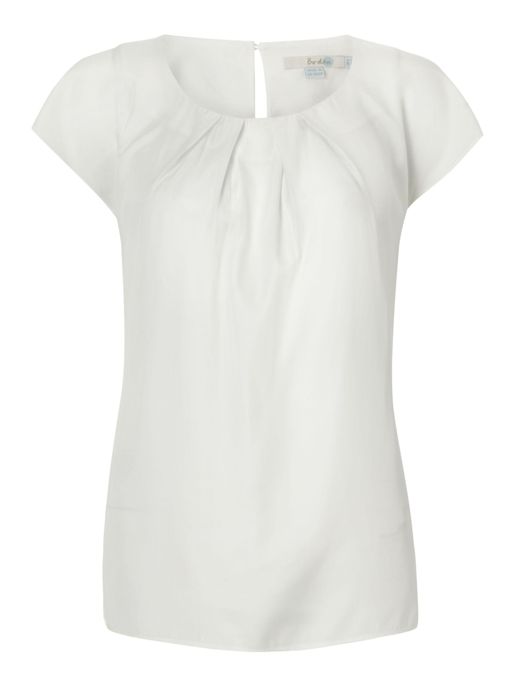 Boden Ravello Silk Blend Top | Boden, Tops, Fashion
