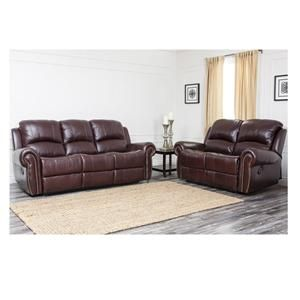 Enjoyable Lexington Reclining Italian Leather Sofa And Love Seat Set Machost Co Dining Chair Design Ideas Machostcouk