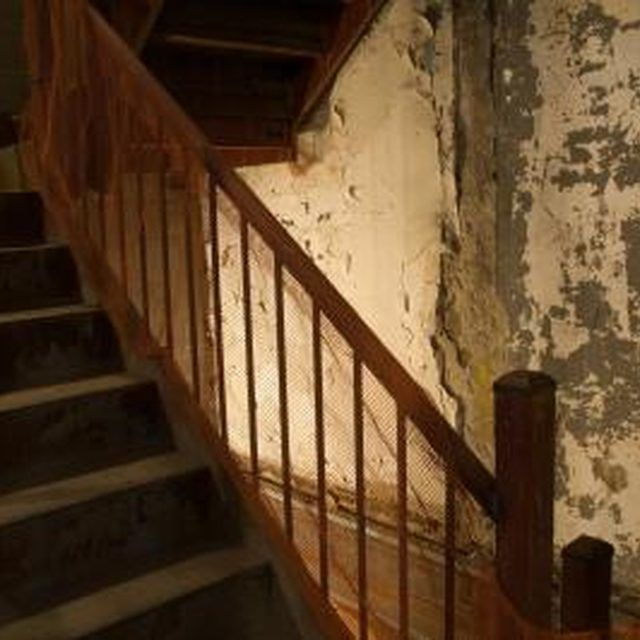 Clean Old Banisters With A Solution That Will And Condition The Wood