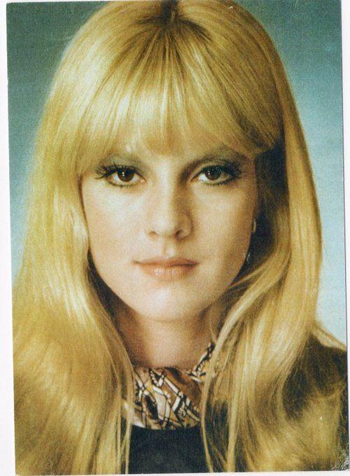 Image De Sylvie Vartan 70s Hair Vintage Hairstyles Hair Styles