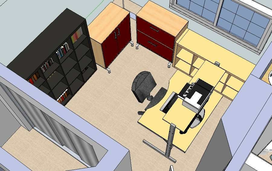 A 3d Google Sketchup Model I Created Of The Ikea