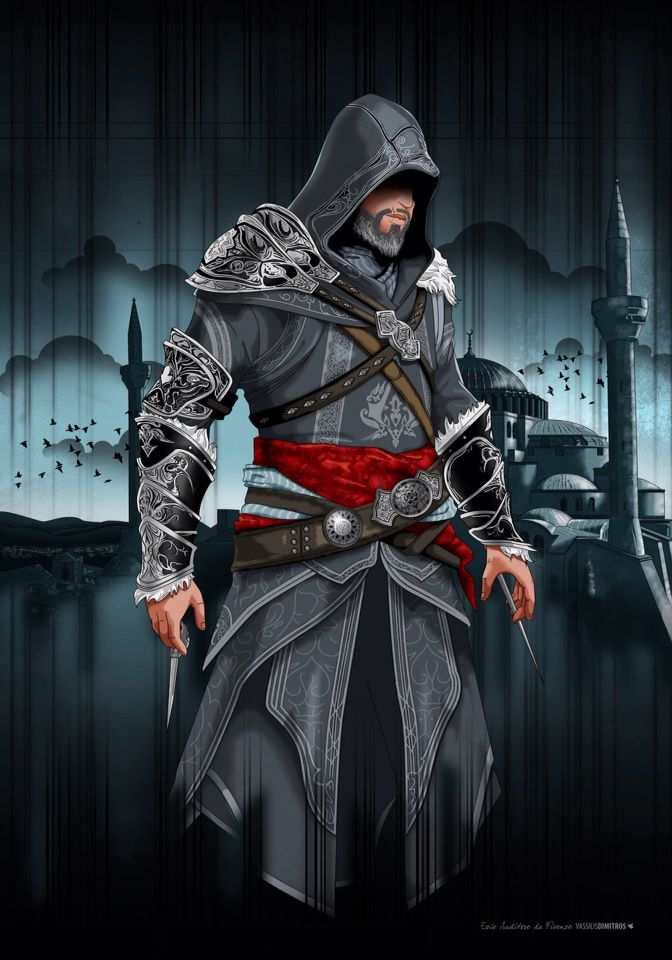 I Always Liked The Old Ezio Over The Young Ezio Assassins