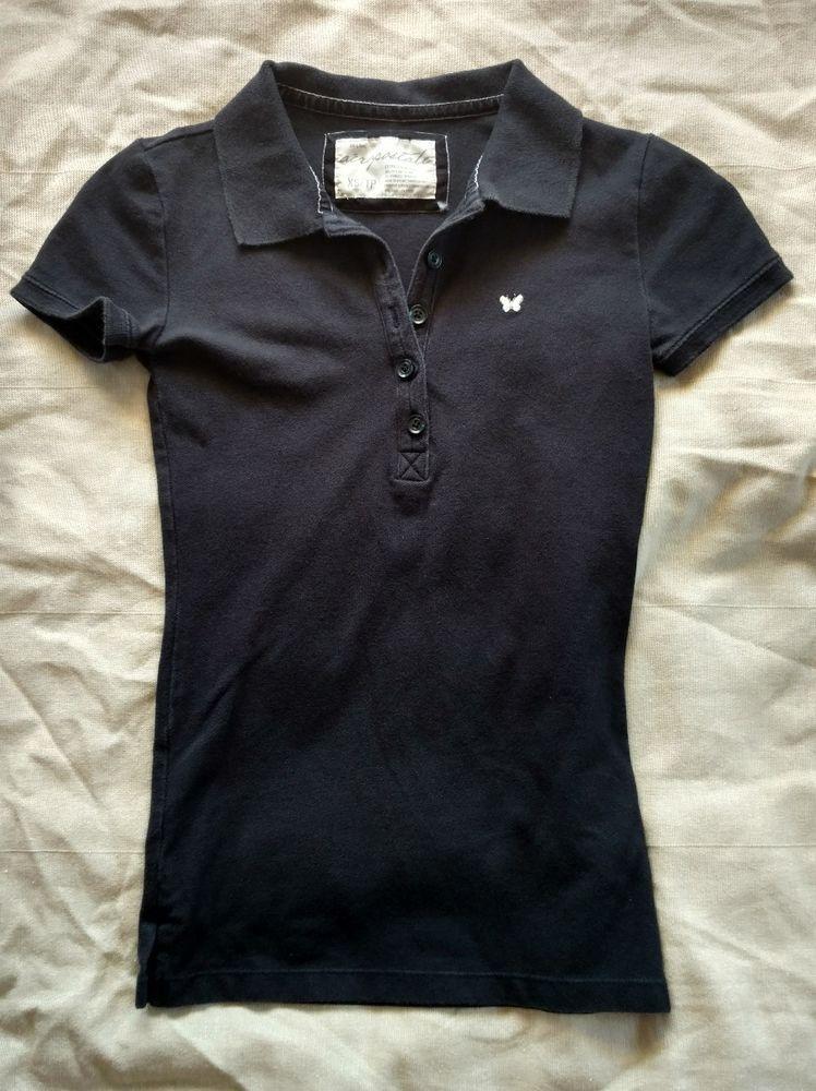 Womens Plain Logo Polo Shirt Tommy Hilfiger Damen Poloshirt Polo