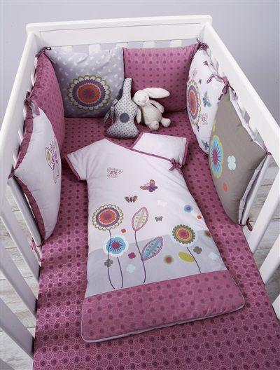 tour de lit bébé modulable graphic flor Tour de lit bébé modulable Graphic flor, Puériculture | idee bebe  tour de lit bébé modulable graphic flor
