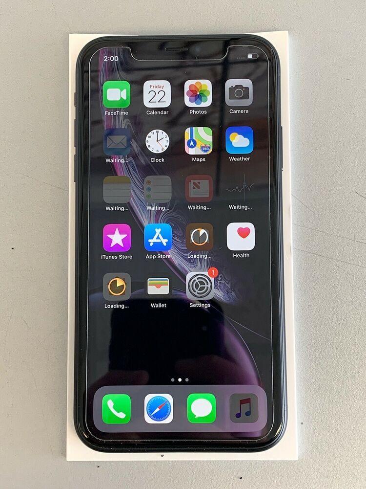 Used Near Mint Apple iPhone XR 64GB Black