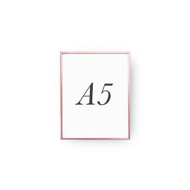 Rahmen haben in drei Standardgrößen A5, A4, A3. Wenn Sie