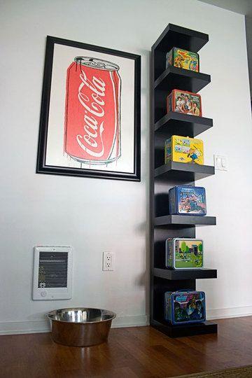 Benjamen S Diy Pop Art Ikea Lack Wall Shelf Ikea Lack Shelves Home Decor