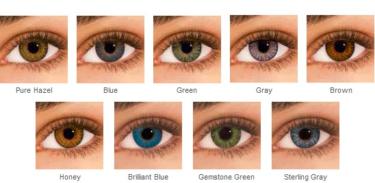 Air Optix Colors Contact Lenses Air optix, Contact