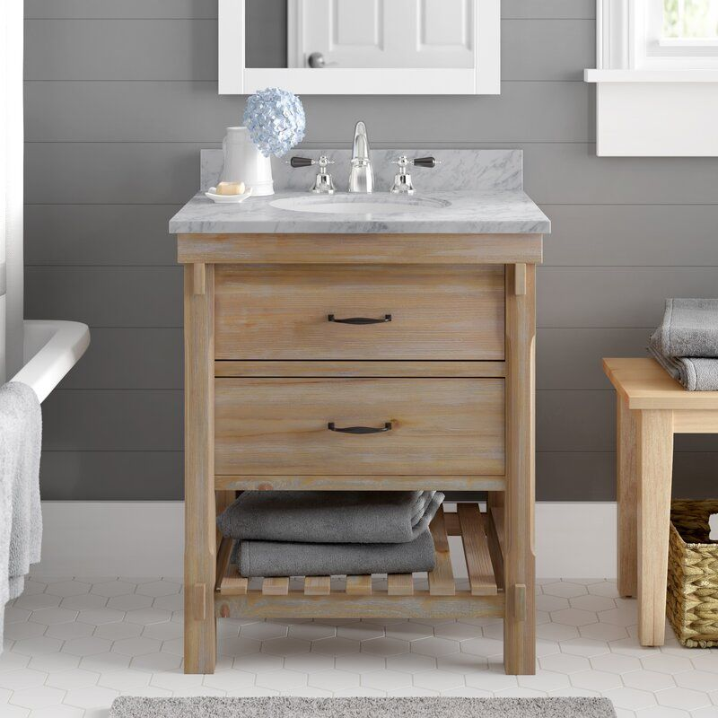 Walbridge 30 Single Bathroom Vanity Set In 2020 Single Bathroom Vanity Double Vanity Bathroom Bathroom Vanity