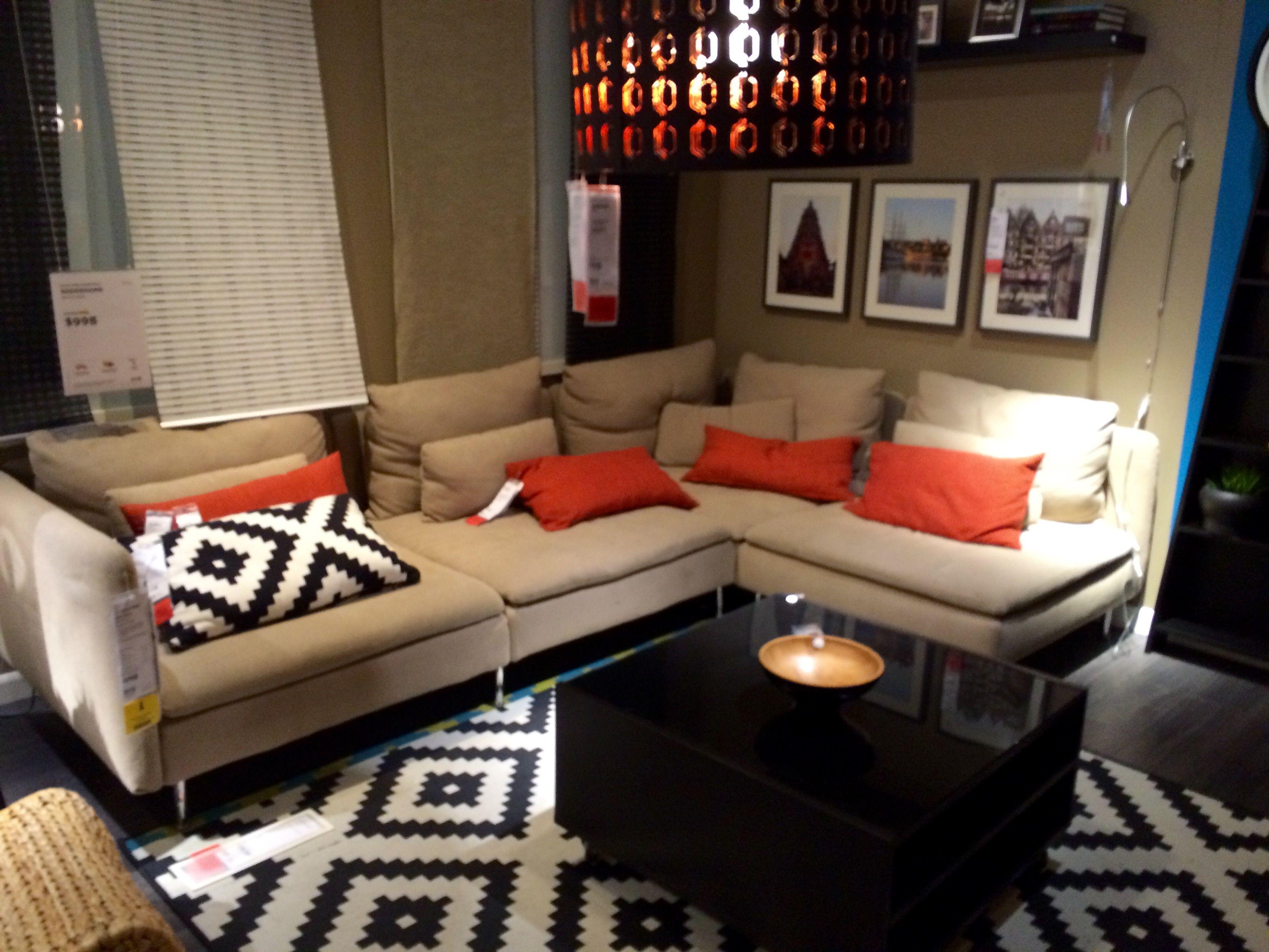 IKEA SODERHAMN sectional sofa. | Sectional sofa, Ikea ...