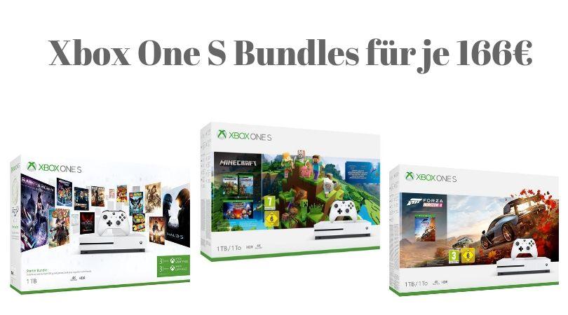 Angebot Xbox Konsolen Bundles Und Controller Reduziert Bundles Fur Je 166 Xbox Bundles Konsole