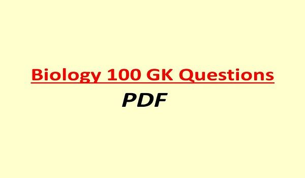 biology question and answer in hindi