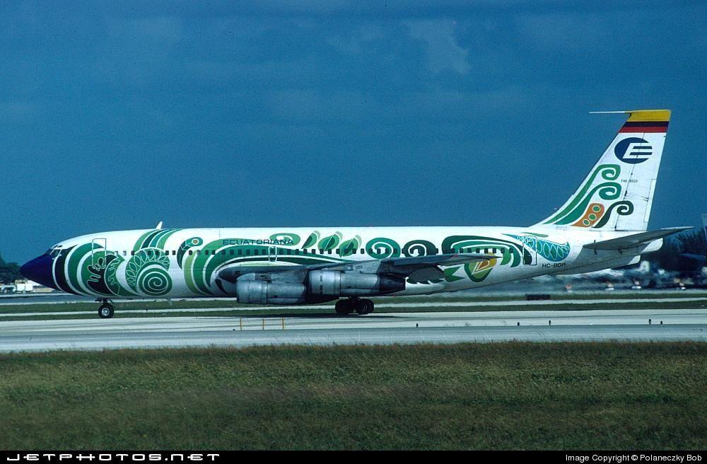 HC-BDP Boeing 720-023B 18033 Miami Int'l Airport - KMIA. Photo by Bob Polaneczky