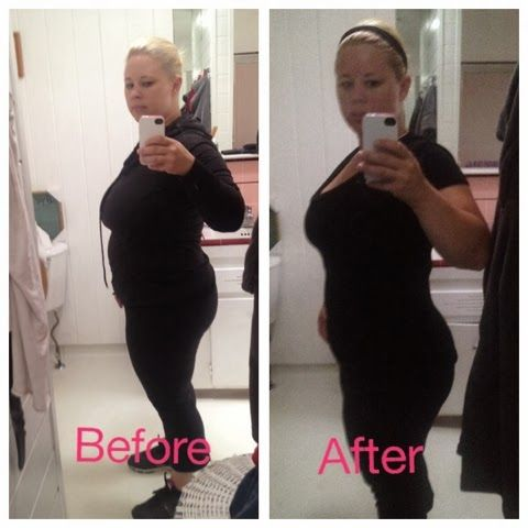 My Before and After on the Arbonne 28 days to fit detox ...