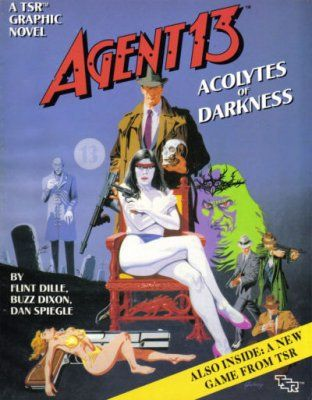 New to the VAE Library - Agent 13: Acolytes of Darkness http://www.victorianadventureenthusiast.com/index/new-to-the-vae-library-agent-13-acolytes-of-darkness/ #pulp #agent13 #rpg
