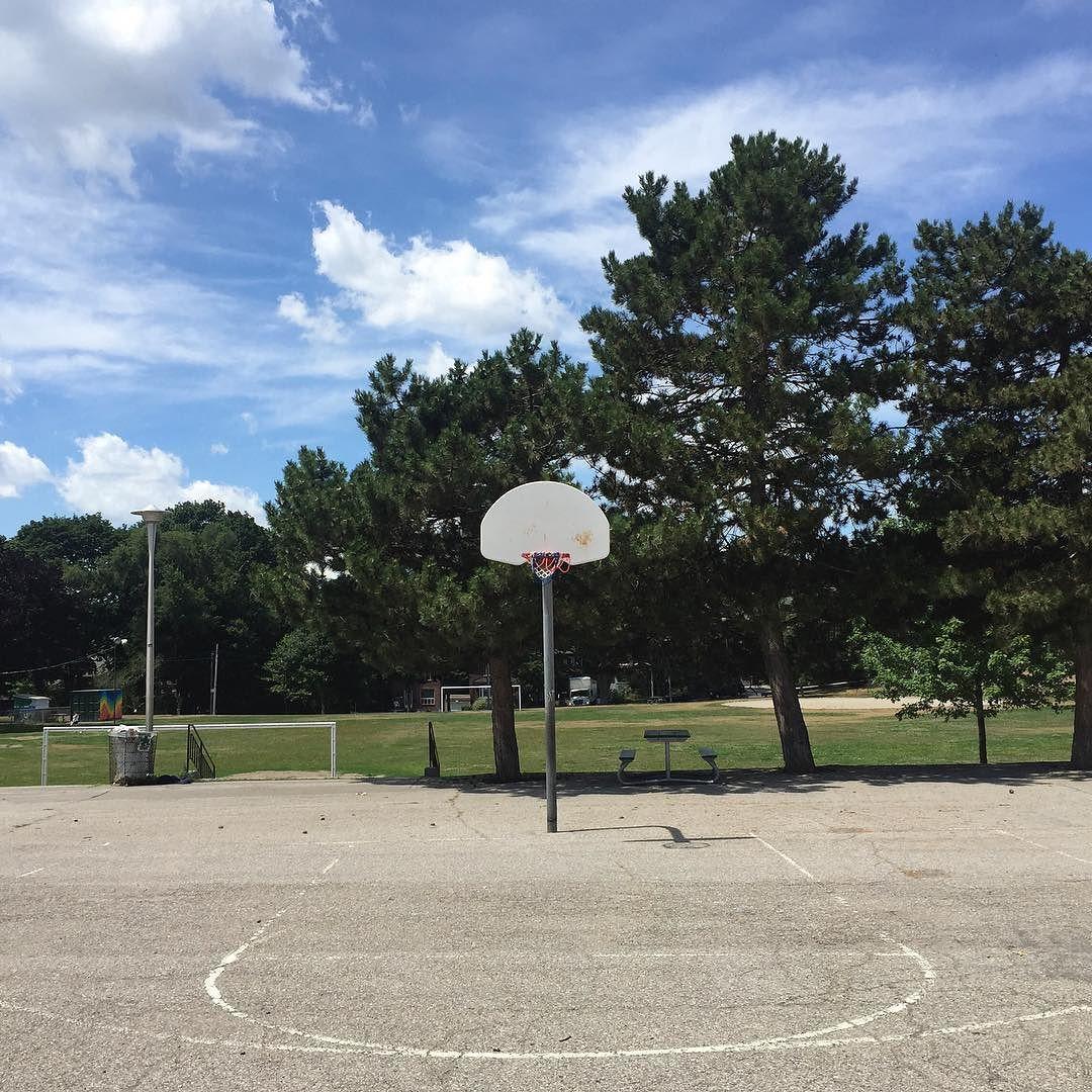 Image result for school yard hoops