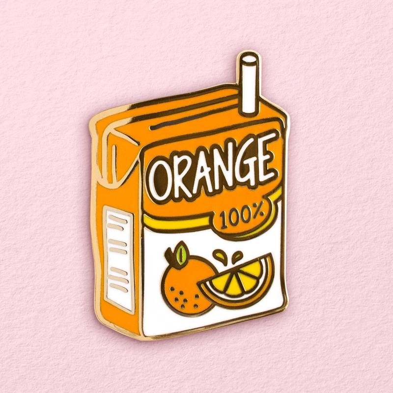 Orange Juice Box Pin Juice Boxes Homemade Orange Juice Pin And Patches