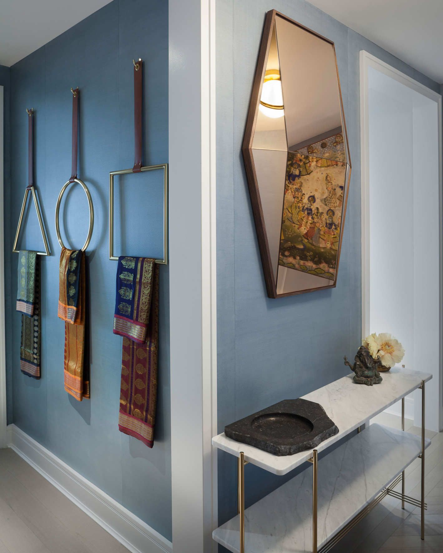 A Cookie-Cutter Apartment, Transformed by Local Artisan ...