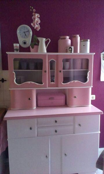 buffetschrank k chenschrank vitrinenschrank buffetschrank vitrinenschrank und dawanda. Black Bedroom Furniture Sets. Home Design Ideas
