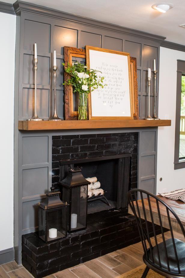 The Fixer Upper Dictionary Good Ideas Brick Fireplace