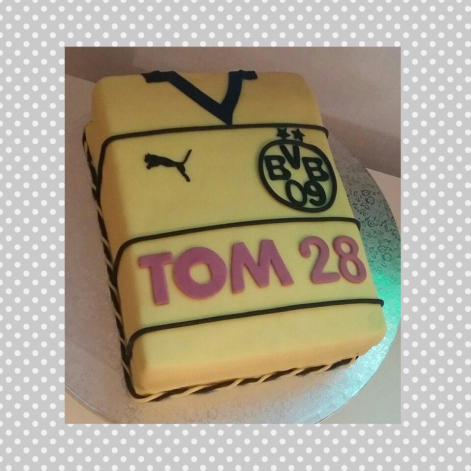 Bvb Torte Trikot Meine Torten In 2019 Cake Torte Und Fondant