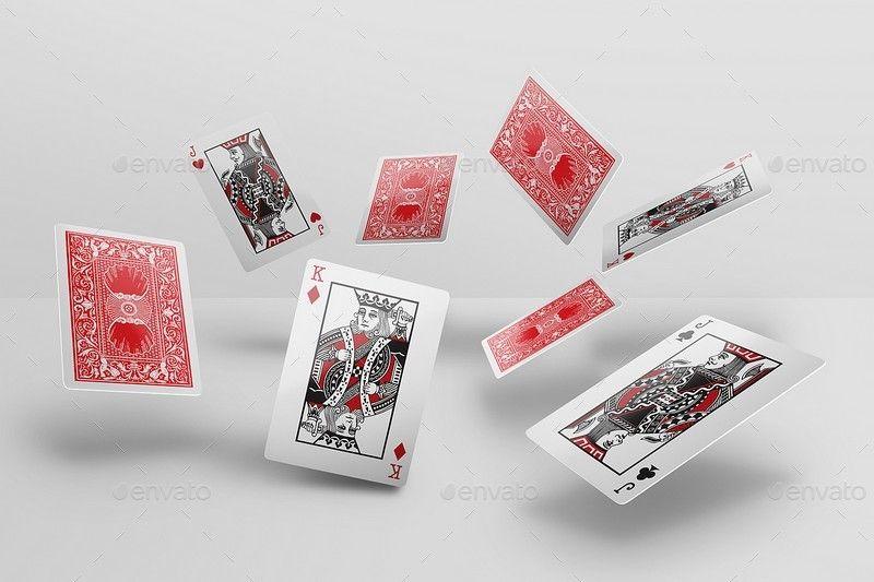 Playing Poker Card Mockups Poker Cards Playing Cards Design Free Card Games