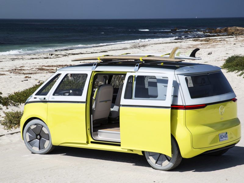 The New Vw Bus Is Back And It S Electric Camper Bouwen