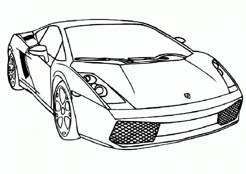 ausmalbilder sportwagen 09 | ausmalbilder | Pinterest | Vehicle
