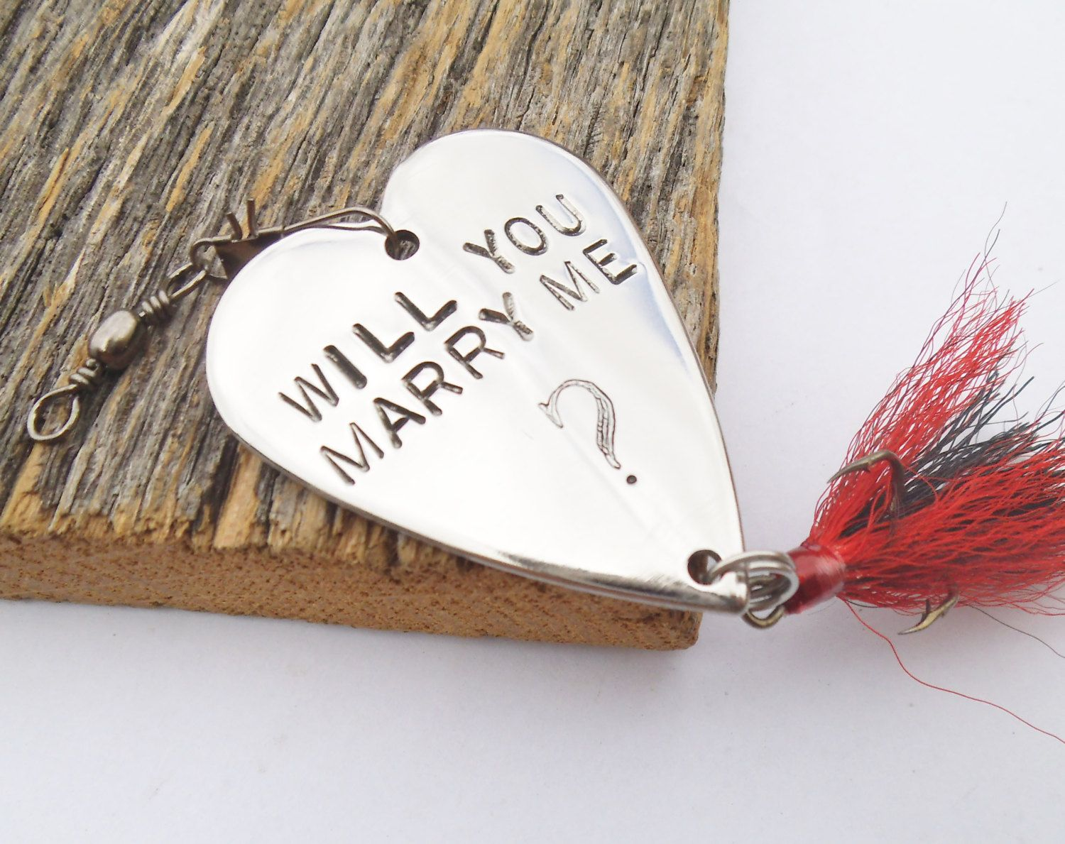 Ready To Ship Will You Marry Me Gift Fishing Lure Woman Marriage Proposal Idea Fiancee Asking