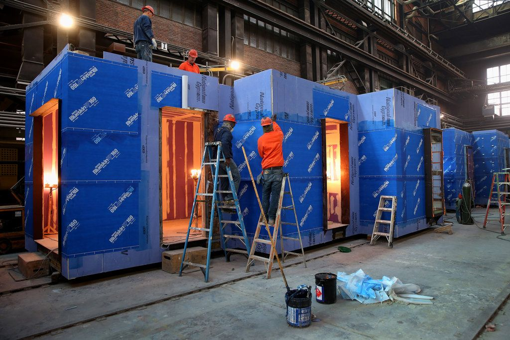 Micro Apartments Tiny Homes Prefabricated In Brooklyn
