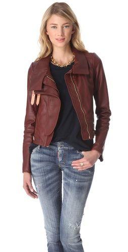 Na Flint temos jaquetinhas de couros incriveis, de cores variaveis, lindas!