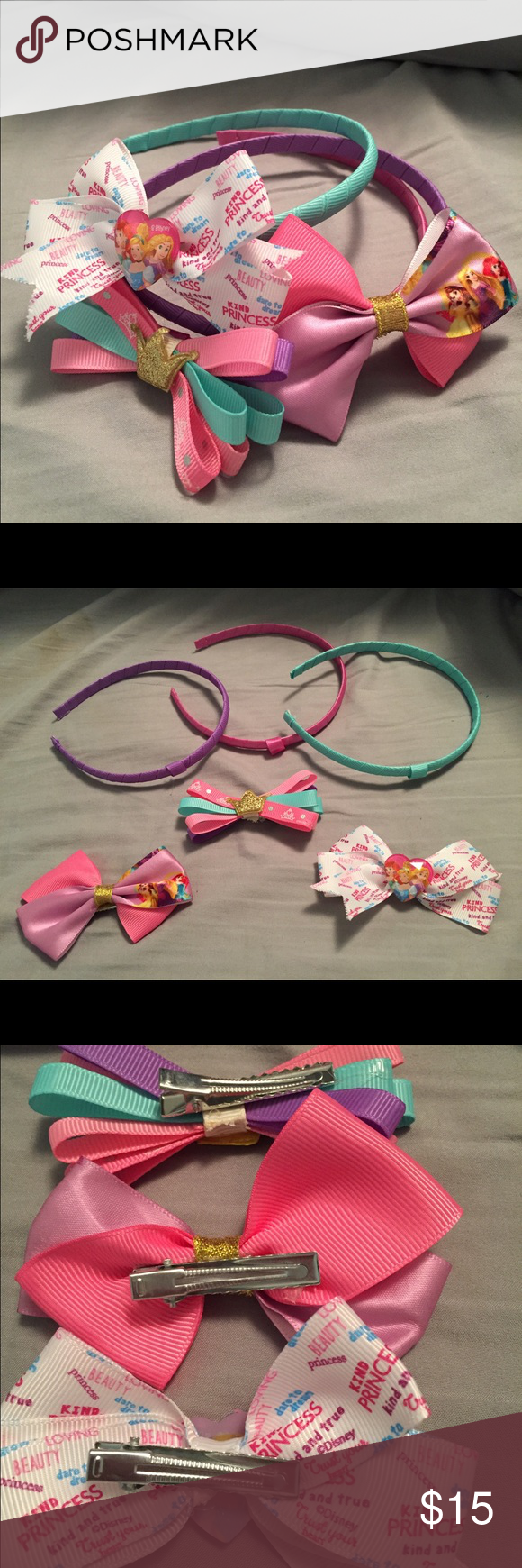 Mix & Match Disney Princess Bow Headbands Disney princess mix & match bow headbands! Disney Accessories