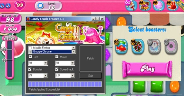 candy crush game cheats download free