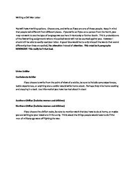 hands on writing activities middle school
